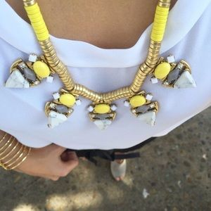 Stella and Dot Pavilion statement necklace